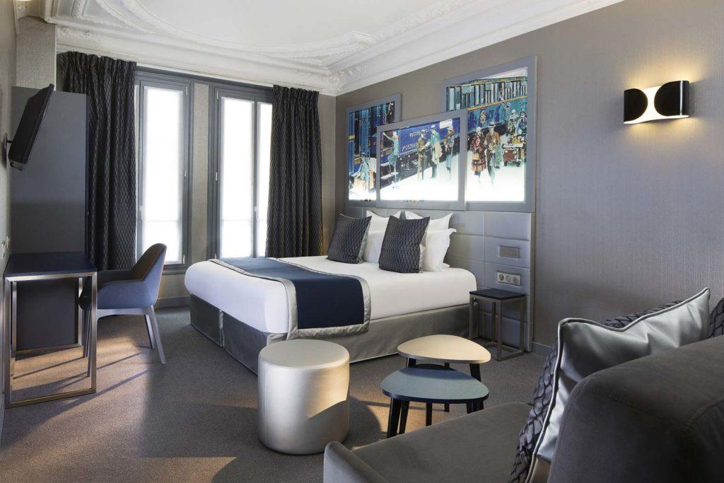 Hotel Paris gare de Lyon - Hôtel Palym - Chambre quadruple